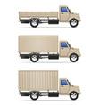cargo truck 08 vector image