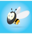 cartoon cute bright baby bee vector image