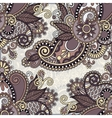 ornamental floral adornment for your design vector image