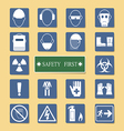 Set of Personal Protection Equipment PPE vector image