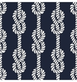 Seamless nautical rope pattern - Figure 8 knots vector image