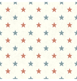 american stars seamless background vector image vector image