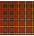 Scottish plaid pattern seamless vector image vector image
