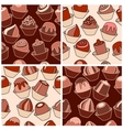 seamless sweets vector image vector image