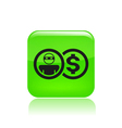 thief money icon vector image