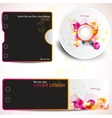 CD Cover design template vector image vector image
