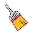 paint brush equipment to industrial service repair vector image