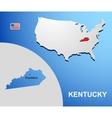 Kentucky vector image