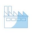 building indusrtial ecology construction design vector image