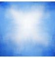 delicate blue watercolor background vector image