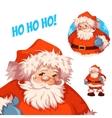 Santa Claus Merry Christmas vector image