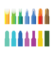 Color screw-drivers vector image vector image