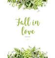 floral design vertical card design tender vector image