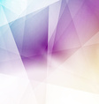 Modern triangular structure crystal background vector image