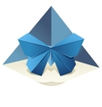 Origami Butterfly vector image