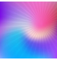abstract blur with starburst vector image vector image