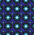 blue abstract geometric seamless backgroun vector image