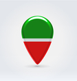 Tatarstan icon point for map vector