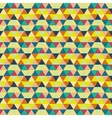 Seamless geometric background Mosaic Abstract vector image