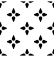 Black stars geometric seamless pattern 2 vector image