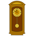 home classic clock vector image