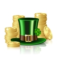 Patrick day background vector image