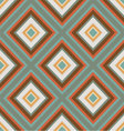 seamless retro ornament squares vector image