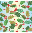 seamless xmas background vector image