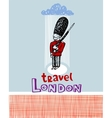 Travel London vector image vector image