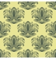 Vintage Paisley seamless floral pattern vector image