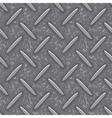seamless steel diamond plate grunge texture vector image