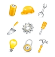 Repair icon set vector image