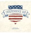 poster independence day with shield symbol vector image vector image