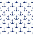 ship anchor seamless pattern vector image