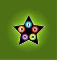 Bingo star vector image