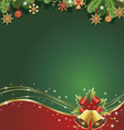 christmas backgroundtraditional straw decorations vector image