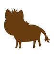 horse farm animal silhouette icon vector image