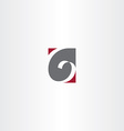 sign letter g logo logotype vector image