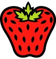 Strawberry logo vector image