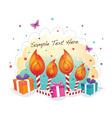 Funky Birthday vector image vector image