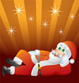 claus vector image