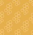 Honey Meadows seamless pattern vector image