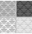 Seamless ethnic pattern collection vector image