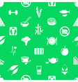 set of diet and healthy life style theme icons vector image