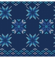 Ugly sweater Pattern vector image