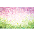 background pink green vector image vector image