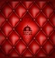 valentines day menu design background vector image vector image