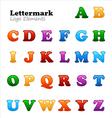 letter marks vector image vector image