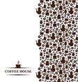 coffee vertical vector image