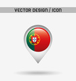 flag icon design vector image